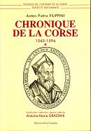 Chronique de la Corse par Filippini
