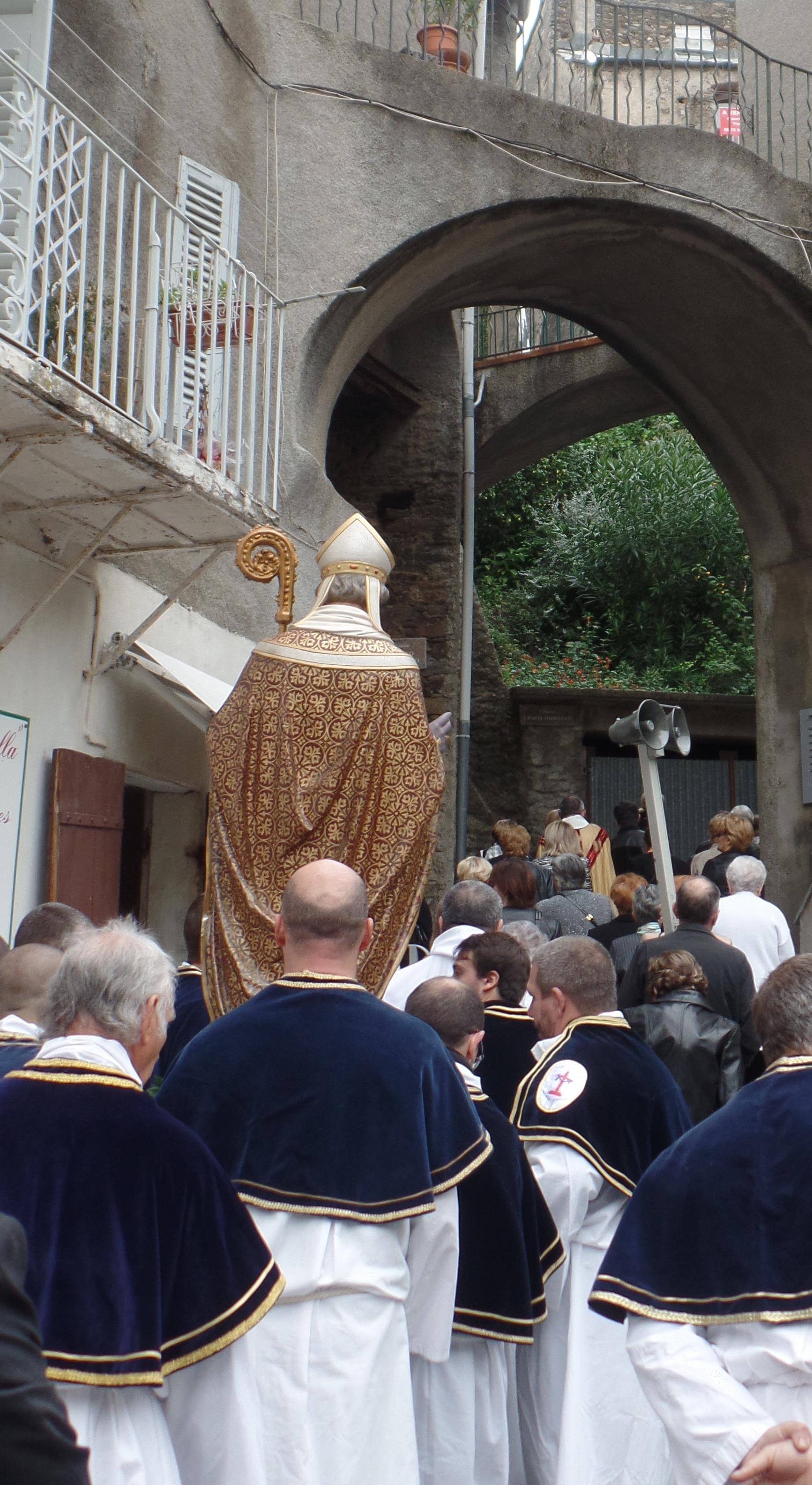 Procession de la confrérie de Santa Croce